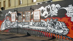 Sepr...Brunswick, Melbourne... (colourourcity) Tags: streetart graffiti awesome melbourne trains steam ask ktf railwayhotel sepr burncity colourourcity