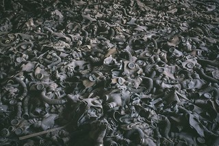 Sea of Gas Masks
