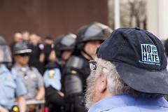 IMG_7140 (Wespennest) Tags: ohio demo spring cops nazi nazis protest police demonstration toledo armor april riotpolice riotcops neonazis nsm bodyarmor jeffschoep nationalsocialistmovement kenkrause