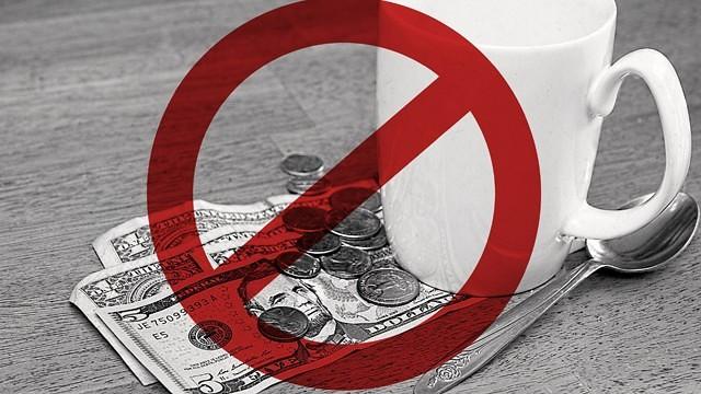 Không đưa tiền tip