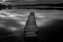Long View (Euan Ross (circa35mm)) Tags: longexposure seascape reflection water landscape scotland pier stones loch lochlomond stirlingshire aberfoyle lochard trossachsnationalpark