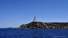 Sardinian Lighthouse (Sailor Alex) Tags: boat sailboat sloop vessel sardinia yachting cruising cruisers yacht sea sailing