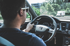Seat Leon Cupra 290 Driver (Marek Pospisil Photography) Tags: driving seat leon dashboard 290 cupra