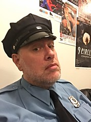 Day 1676 - Day 216: Johnson. Deputy Johnson. (knoopie) Tags: 2016 august iphone picturemail doug knoop knoopie me selfportrait 366days 366daysyear5 year5 365more day1676 day216 theater bonnieandclyde studio18 12thavenuearts deputyjohnson