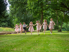 Six bridesmaids and a page boy (johnnewstead1) Tags: wedding weddingday weddingphotographer weddingphotography weddingdress bride brideandgroom norfolkweddingphotographer norfolkwedding groom simonwatson simonwatsonphography johnnewstead olympus mzuiko em1 bridesmaid bridesmaids pageboy flowergirl