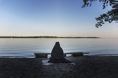 Untitled (mariammagsi) Tags: photography nikon d7200 toronto canada ontario water freedom burqa veil identity gender thesis mfa ocad imagination creative art project