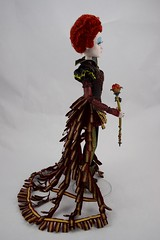 Iracebeth The Red Queen Limited Edition 17'' Doll - Alice Through the Looking Glass - Disney Store Purchase - Deboxed - Standing - Full Left Side View (drj1828) Tags: iracebeth alicethroughthelookingglass limitededition us disneystore doll 17inch purchase liveactionfilm theredqueen deboxed standing