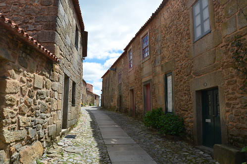 In the streets of a medieval village V