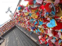 love locks (blink4blink) Tags: love colors mural colorful couples locks padlocks lovenest flickrphotowalk