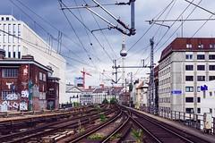 Destination: Anywhere (DOKTOR WAUMIAU) Tags: city urban berlin nikon tracks fernsehturm sbahn ishootraw d7200 vscofilm
