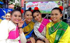 Khao Phansa 2016... Kalasin,  Thailand (larryoien) Tags: thailand traditionalcostume isaan kalasin khaophansa travellight totallythailand lumixlx5