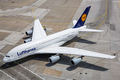 D-AIMF - Airbus A380-841 - Lufthansa (Bjoern Schmitt) Tags: daimf lufthansa airbus a380841 cn 066 frankfurt airport a380 380 388 whale widebody airplane germany taxi