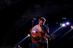 Frank Turner-3 (redrospective) Tags: people musician music man london smiling concert guitar live tattoos guitarist spotlights singersongwriter 2016 frankturner electroacousticguitar houseofvans 20160713