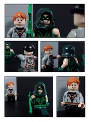 Green Arrow: Inspiring Others #2 (MrKjito) Tags: red green roy dc comic lego super hero arrow minifig harper arsenal origin comcis