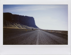 Route 1 Iceland (Bazzerio) Tags: route 1 road iceland film polaroid instax bazzerio mountain analogue analog travel