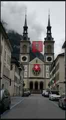 Neo-Romanesque Church of Glarus Switzerland (Tamilpoems (Tamil kavithaigal)) Tags: catholic catholicchurch church glarusgemeinde glarus glaruscity switzerland swisstravel swissreligion swissmountains swissfestival schweiz suisse zurichcity zug zurich mnnedorf bern geneva interlaken google europe people city temple god jesus