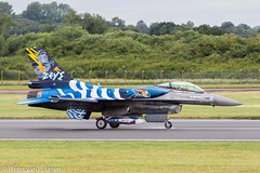 F-16C 523 (Pieter van Polanen Photography) Tags: riat fairford f16 f16c zeus haf 523 falcon