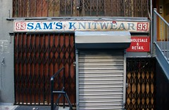 Sam's Knitwear, New York (AlainC3) Tags: samsknitwear newyork ny usa commerce store storefront ads advertising publicit d90