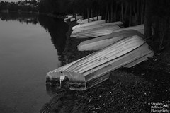 0D6A1897 - Boat @ rest (Stephen Baldwin Photography) Tags: trees lake water landscape bay waterfront macquarie foreshore boast warners