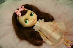 My vintage girl... (Primrose Princess) Tags: pink ballet vintage mod ballerina doll retro kenner blythe brunette 1972 tulle tutu vintagedress kennerblythe dollclothes