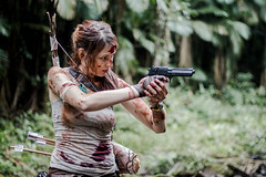 Lara Croft (Manoela Padilha) Tags: cosplay lara croft tomb raider 50mm canon brazil