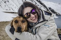Amiguito (ANDYFOTEIKER) Tags: embalse el yeso cajon del maipo sergio mella region metropolitana santiago chile turismo nieve montaa viajes