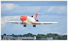 G-OSRA Boeing 727 252F (Ciaranchef's photography.) Tags: boeing boeing727 gosra airshow airplanes airdisplay flyingdisplay flying farnborough2016 farnboroughairshow nikon18300mmf3556gedvr nikonaviation
