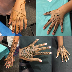WBL henna collage (Charlotte Mecklenburg Library) Tags: charlottemecklenburglibrary library plcmc cml cmlibrary summer break 2016 west boulevard