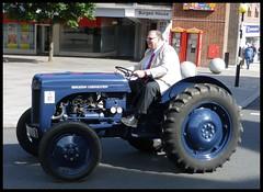 Massey Ferguson 70 years of Tractors parade Coventry. (nexapt101) Tags: coventry ferguson parade brightoncorporation blue