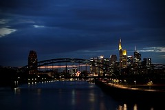 4W0B3808 Frankfurt@Night (Brigitte Wagner) Tags: rivermain river night nightscene nightshot frankfurt frankfurtammain