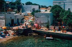 POLIGNANO A MARE (Guillaume Gaubert) Tags: nature sun sunset beach summer sea ocean italy puglia pugliano hedonistic hedonism film 35mm analog