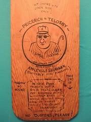 Telosky bat2 (Maple Ridge Museum & Archives) Tags: baseball history hammond mapleridge