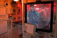 Cold War hi-tech (jeremyhughes) Tags: london 35mm ship fuji technology military screen historic hmsbelfast planning fujinon cruiser radar plotting warship coldwar obsolete battlecruiser xe2 xf23mmf14r fujixe2