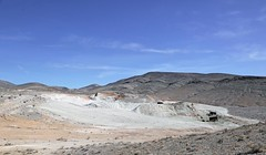 Crater Mine (Ron Wolf) Tags: california abandoned landscape nationalpark mine historic mining machinery deathvalley geology blm earthscience tailings deathvalleynationalpark