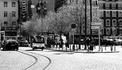 (mgkm photography) Tags: street urban blackandwhite bw portugal monochrome 50mm calle lisboa lisbon streetphotography gimp streetphoto rua pretoebranco streetshot urbanphotography lisboetas lisboanarua blackwhitephotos ptbw nikonphotography opensourcephotography ilustrarportugal d7000 europeanphotography bnwportugal bnweurope