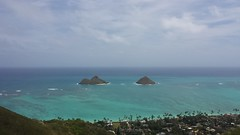Na Mokulua (XJCreations) Tags: hawaii oahu lanikai bunkers kaiwa xjcreations