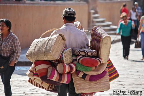Vendedor de bolsas - Mexico