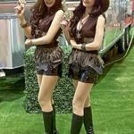 Sexy models presenting Airstream trailers at the 36th Bangkok International Motor Show thumbnail