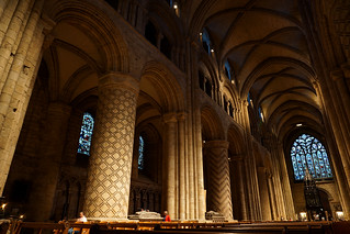 Durham cathedral interior