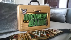 (imranbecks) Tags: world money logo gold seth championship belt bank rollins replica network title 31 briefcase heavyweight wwe commemorative superstore wrestlemania sheamus axxess