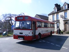Kirkby Stephen Classic Commercial rally 2015 00425, Leyland Leopard PPT446P (Yorkshire66) Tags: road old west bus classic station truck vintage easter wagon coach rally run stephen east lorry commercial cumbria vehicle 17th brough kirkby 2015