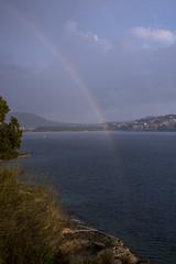 rainbow in the sea (www.arternative-design.com) Tags: landscape nikon espana landschaft mallorca palma spanien santaponca valldemossa soller d810 nikond810