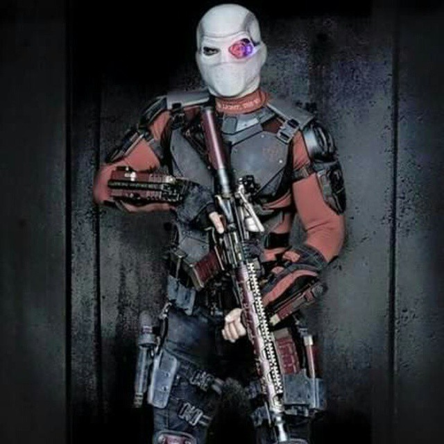 Will Smith tweeted out a picture of himself as Deadshot from the new SUICIDE SQUAD movie. What do you think? #InvestComics #SuicideSquad #Deadshot #HarleyQuinn #DCComics