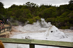 Lady Knox Geyser (Dave Smith) Tags: rotorua geyser waiotapu ladyknox thermalwonderland ladyknoxgeyser ds:source=raw ds:software=rawtherapee ds:camera=eos5dmarkii