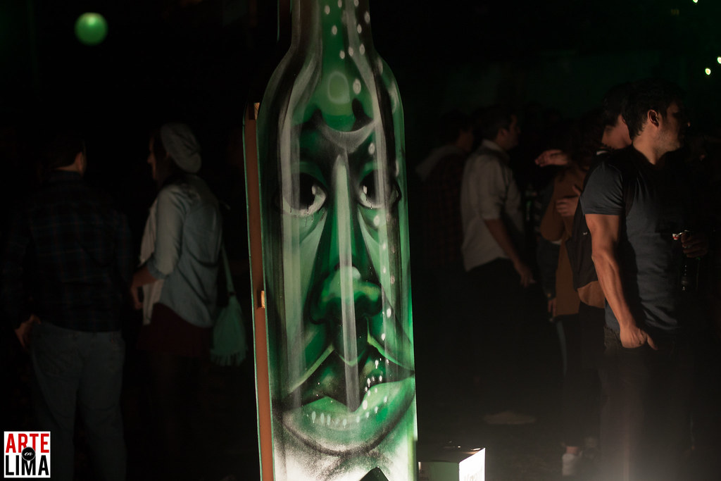 "Entes & Pesimo ""House of Art"" de Grolsch en Casa Tupac"