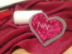 naps (TheStoreOfSolitude) Tags: art fashion illustration student handmade embroidery sewing small felt needle stitching denim illustrator textiles patch selling embroidered naps