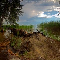 (lhemund) Tags: sky panorama naturaleza lake nature landscape nikon outdoor natura pan     skylovers vertorama nikond7000