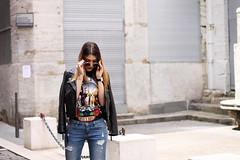 blog de lucinda (blogdelucinda) Tags: blog de lucinda fashion blogger blogueuse mode travel voyage traveller traveler travelling guns roses nakd heels rock street style streetstyle chic look outfit tenue ootd day collier ras cou lunettes ronde rue lyon lyonnaise