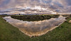 Brumbys Creek, Tas. (Billy Avery Photo) Tags: tas tasmania discovertasmania canon 600d canon600d sigma wide wideangle 1020mm panorama pano sun sunset winter landscape creek river water selftaught clouds lightroom adobe cs6 photoshop