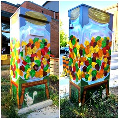 Candy Jar by Rosalie Lam, Outside the Box Art Project, Shaw and Lobb, Toronto, ON (Snuffy) Tags: toronto ontario canada candyjar rosalielam outsidetheboxartproject shawandlobb